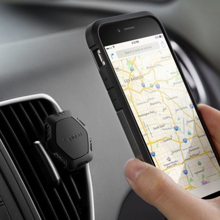 Spigen Qs11 Air Vent Magnetic Car Mount Holder - 9
