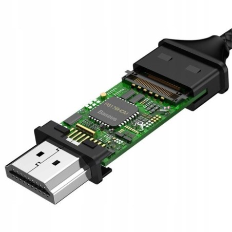 BASEUS TYPE-C TO HDMI 4K CABLE 180CM SPACE GREY - 6