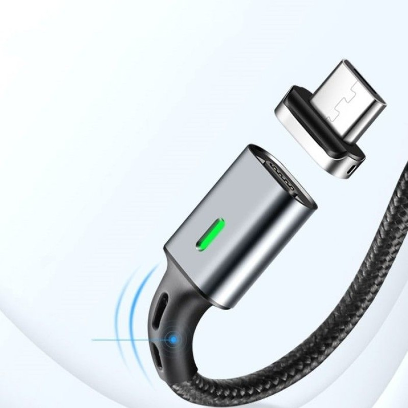 ELOUGH 3A TYPE-C MAGNETIC CABLE BLACK - 2