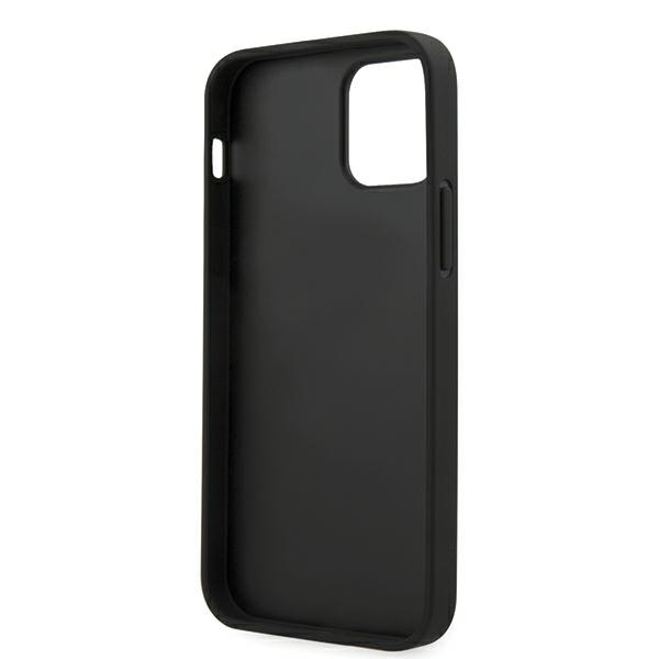 Guess GUHCP12MPUVQTMLBK iPhone 12/12 Pro 6,1' czarny/black hardcase V-Quilted Collection - 3