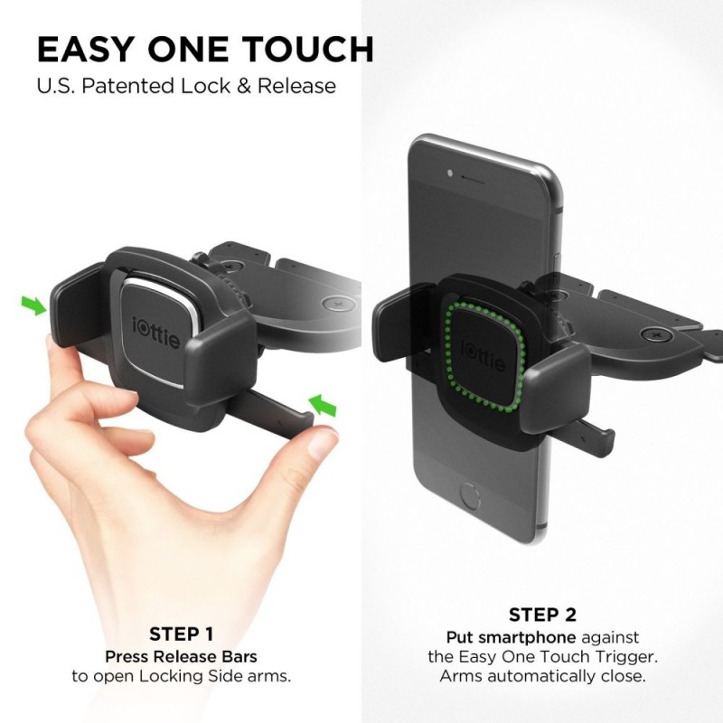 IOTTIE EASY ONE TOUCH 4 CD CAR MOUNT - 5