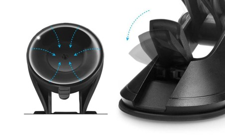 Spigen Ts36 Signature Car Mount Holder Black - 6