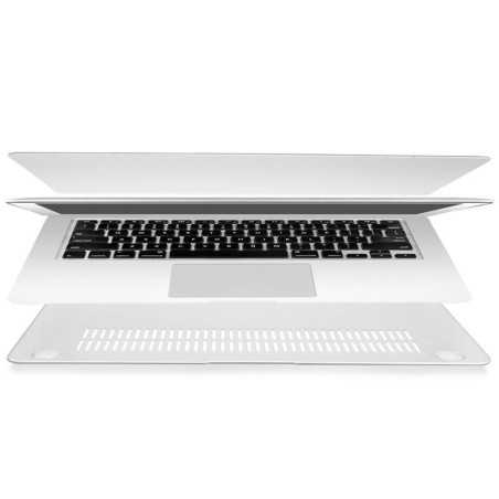 TECH-PROTECT SMARTSHELL MACBOOK AIR 13 MATTE CLEAR - 3