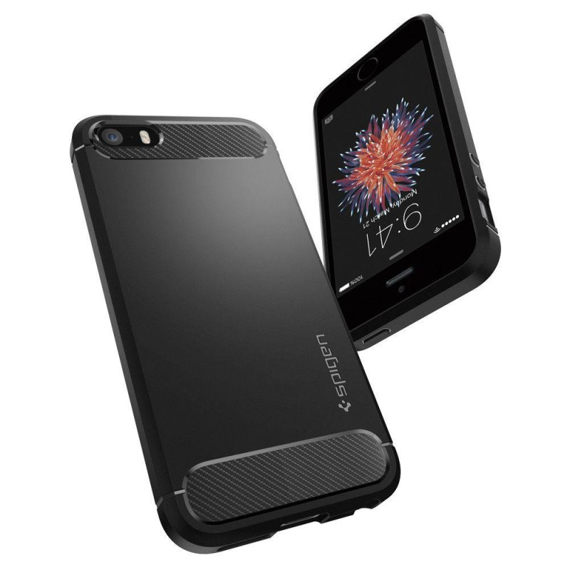 Etui Spigen Rugged Armor Iphone 5s/Se Black - 3