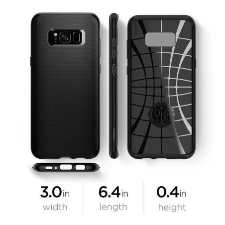 Etui Spigen Liquid Air Galaxy S8 Black - 5